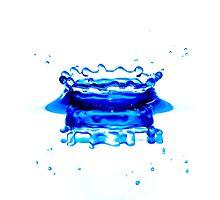 blue crown by Ivan Sidorov