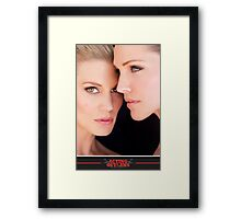 Tricia Helfer and Katee Sackhoff by Dennys Ilic Photography Framed Print