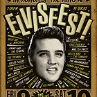 Elvisfest Poster by deathray66