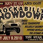 Rockabilly Showdown Poster by deathray66