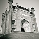 Entrance of Royal Mosque Lahore. by zaghumkhan