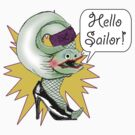 Hello Sailor! by aewayfarer