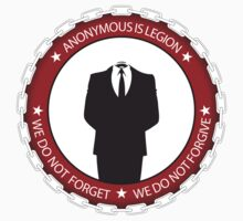 Anonymous (is legion)  by Thomas Jarry