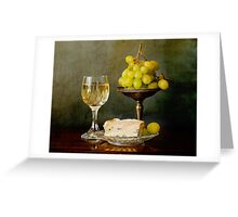 Gourmet snack Greeting Card