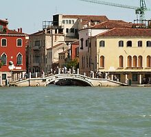 Bridge in Venice by pisarevg