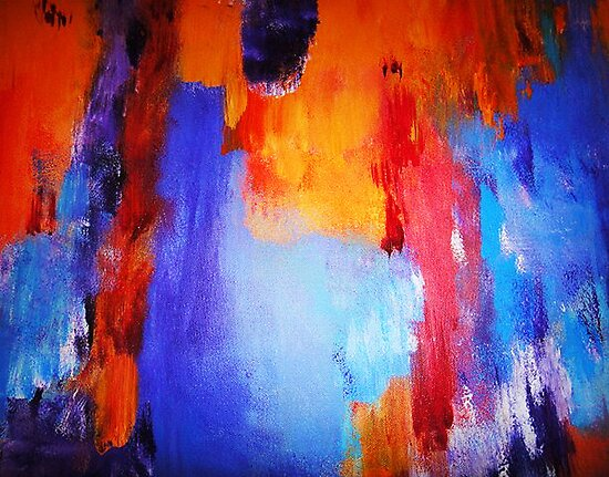 Afternoon Abstract by Mistyarts