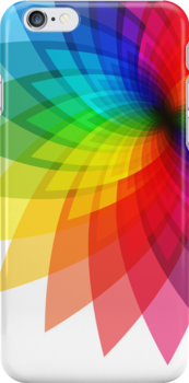 Rainbow Flower by Ashton Bancroft