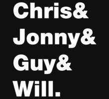 Chris & Jonny & Guy & Will. by Affettuoso