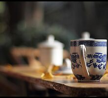 Chinese teacup by jonshock