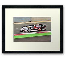 Audi Sport Team Joest No 2 Framed Print