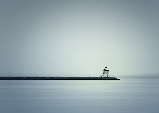 Two Harbors Lighthouse by April Koehler