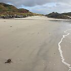 Beach in Arisaig, Scotland by aledwards