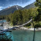 Bullers Gorge Footbridge by DavidsArt