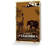 Visit Zamunda Greeting Card