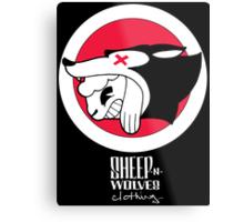 Sheep-n-Wolves Clothing Logo Metal Print