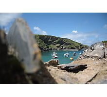 The Bay in Port Isaac Photographic Print