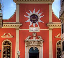 The Church of Mitropoli Panagias by Tom Gomez
