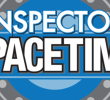 Inspector Spacetime Sticker Sticker