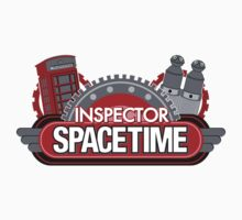 Inspector Spacetime Blorgon Edition Sticker by rexraygun