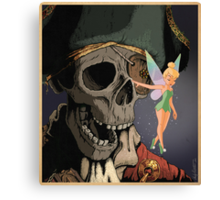 Tinkerbell and One Eyed Willy Canvas Print