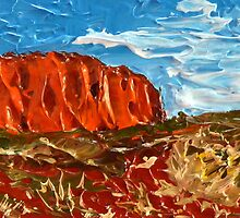 Ayers Rock, Uluru by Cathy Gilday