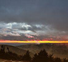 Brief Glimpse of Sunset by Lyana Votey