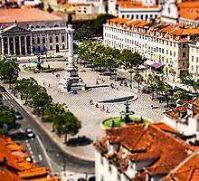 Tiny Town Courtyard by Andrew Paranavitana