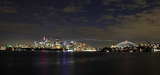 Sydney Lights Up by ©Josephine Caruana