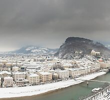 Salzburg Panorama II  by Chris Tarling