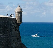 Old San Juan by Mark Prior