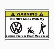 Warning - VW by Barbo