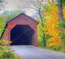 Covered Bridge by James Brotherton