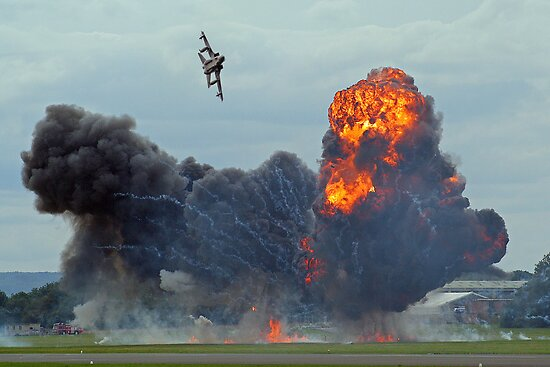 Tornado GR4 Role Demo - Dunsfold 2012 by Colin J Williams Photography
