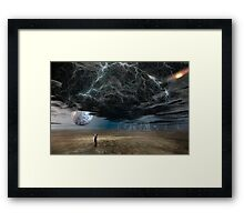 The Storm Framed Print