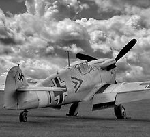 Storm Clouds Gathering - Duxford Flying Legends 2012 by Colin J Williams Photography