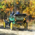 Stanley Steamer Automobile by Susan Savad