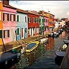 Colours of Burano by ten2eight