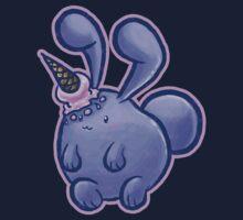Purple Icecream Bunny Kids Clothes
