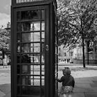 A Wonderful World - Phone Box by Sevenhills