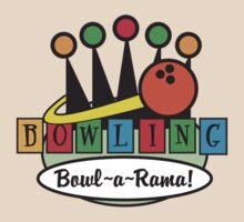 Bowling Retro by SportsT-Shirts