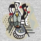 Bowling Abstract by SportsT-Shirts