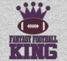 Fantasy Football King by David Ayala