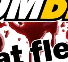 Zombie - Eat Flesh Sticker