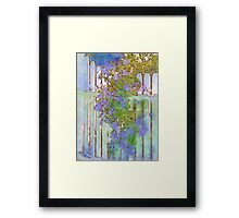 Petunias at the Gate Framed Print