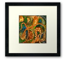 Scales & Tentacles Framed Print