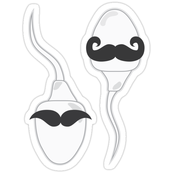 My Sperm Have Mustaches by NoahZwill