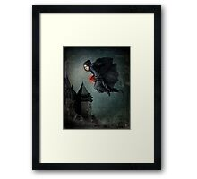 every night she steals a heart Framed Print