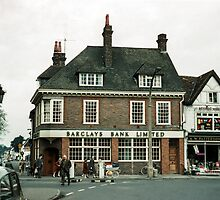 Barclays Bank Baldock 196104220203  by Fred Mitchell