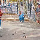 Bocce Ball by Phillip S. Vullo Jr.