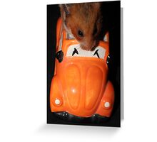going for a drive Greeting Card